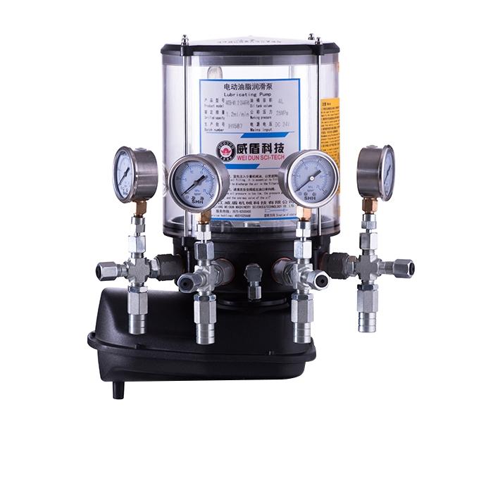 江苏4WDB-M电动油脂润滑泵